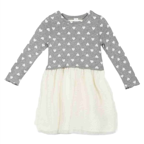 Baby Gap Girl's Mix Fabric Heart Tulle Dress